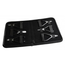 6 Piece Pliers and Cutters Set w/ Black PVC Grips