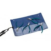 4 Piece Teal Slimline Plier Set