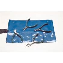"4-1/2"" 4 Piece Plier Set"