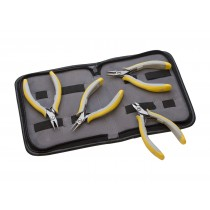 4-Piece Lindstrom® EX Plier Kit with EX7490, EX7590, EX7893, and EX8141 Pliers