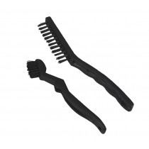 Pack of 2 Nylon Bristle Brushes