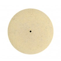 "3"" Knife Edge Felt Wheel w/ Pinhole Center"