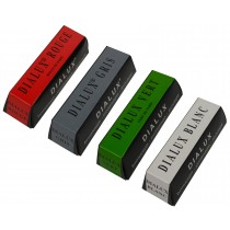 4 Pack 4 Oz Red Rouge and Green Gray White Dialux Polishing Compound Set