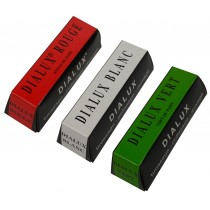 3 Pack 4 Oz Red Rouge and Green White Dialux Polishing Compound Set