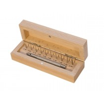 Pin Pusher Set w/ 10 Pins Sizes 0.40 mm to 2.00 mm
