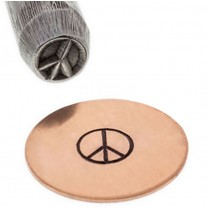 Peace Sign Border Stamp