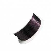 24 Gauge Purple Artistic Wire Spool - 20 Yards