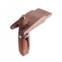 Mahogany Ring Clamp w/ Bench Pin