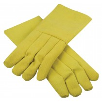 "High Heat-Resistant Kevlar® 14"" / 22 Oz Melting Furnace Gloves"