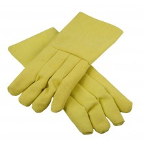 "High Heat-Resistant Kevlar® 18"" / 22 Oz Melting Furnace Gloves"
