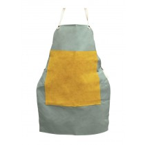 "24"" x 48"" Flame Retardant Apron w/ Leather Patch"