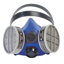 Honeywell Silicone Half Mask 2000 S Series Respirator w/ Speaking Diaphragm Size MEDIUM