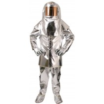 Complete Aluminized Safety Suit Set - Size Large