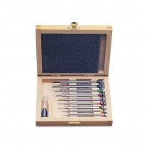 9 Piece Screwdriver Set w/ Wooden Box