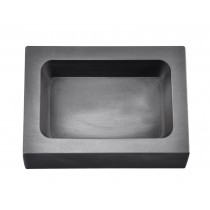 1 Kg Kilogram Silver Rectangular Graphite Ingot Mold