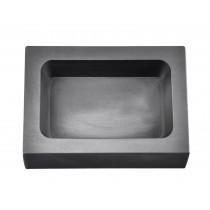 1 Kg Kilogram Silver Rectangular Graphite Ingot Mold
