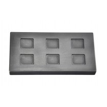 1/4 Troy Ounce Multi Cavity Silver Rectangular Graphite Ingot Mold