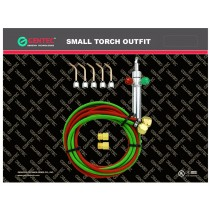 Acetylene & Oxygen Small Torch Kit with 5 Tips (#2-6)