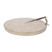 "12"" Annealing & Soldering Pan w/ Third Hand Clamp & Pumice"