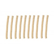 """Pack of 10 1/2"""" Replacement Wicks for the Alcohol Glass Burner Lamp"""