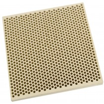 Honeycomb Ceramic Block Square w/ 1,050 Holes (2 mm Diameter)