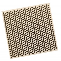Honeycomb Ceramic Block Square w/ 585 Holes (2 mm Diameter)