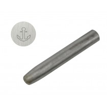 "1/4"" 6.35 mm Steel Anchor Stamp"