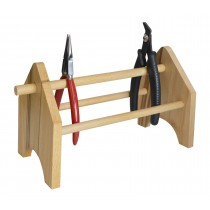 Solid Wood Plier & Cutter Storage Rack
