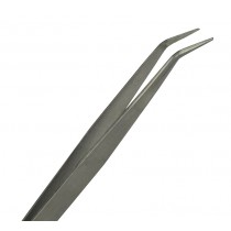 "7"" Curved Fine Point Tweezers"