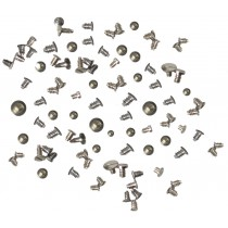 100-Piece Battery Clamp/Screws Assortment