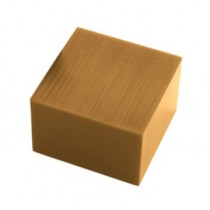 Square Wolf Wax Block - 1 Lb Gold