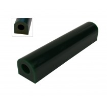 Wax Ring Tube - Dark Green Extra Large Flat Side (FS-7)