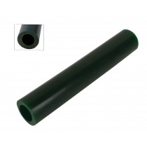 Wax Ring Tube - Dark Green Large Round Off-Center Hole (ROC-3)