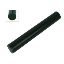 Wax Ring Tube - Dark Green Small Round Solid Bar (RS-1)