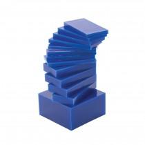 17 Piece Assortment of Medium-Hard 1 Lb Sliced Wax Carving Blocks