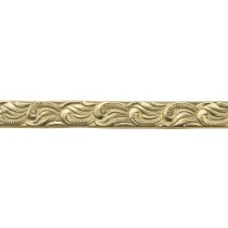 3' Red Brass Pattern Wire - Scroll 16 Gauge