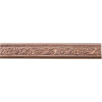 3' Copper Pattern Wire - Mini Floral 16 Gauge