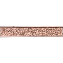3' Copper Pattern Wire - Flower 20 Gauge