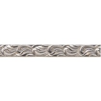 "8"" Sterling Silver Pattern Wire - Scroll 18 Gauge"
