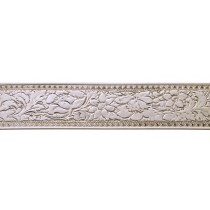 "8"" Sterling Silver Pattern Wire - Wide Floral 24 Gauge"