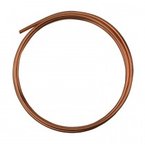5' Round Dead Soft Copper Wire - 8 Gauge