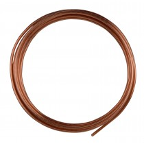 10' Round Dead Soft Copper Wire - 10 Gauge
