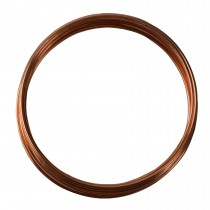 10' Round Dead Soft Copper Wire - 12 Gauge