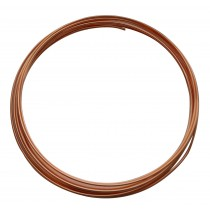 10' Round Dead Soft Copper Wire - 14 Gauge