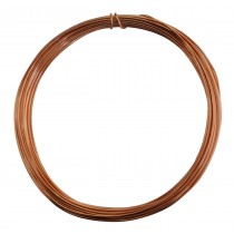 25' Round Dead Soft Copper Wire - 18 Gauge
