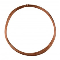 25' Round Dead Soft Copper Wire - 21 Gauge