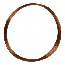 50' Round Dead Soft Copper Wire - 28 Gauge