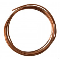10' Square Dead Soft Copper Wire - 12 Gauge