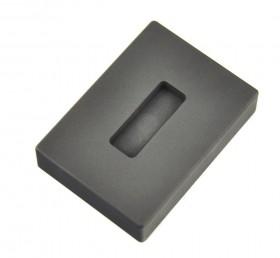 1/2 oz Troy Ounce Silver Kit Kat Graphite Ingot Mold