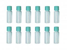 12 Pack of 2 oz Plastic Storage Vials